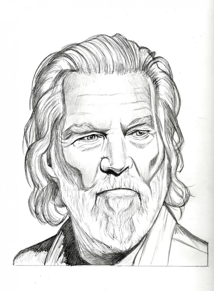 Jeff Bridges por RobCrandall